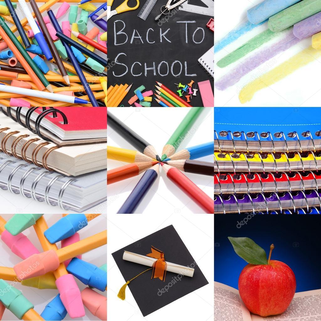 Back To School Collage Stock Photo Scukrov 31065111