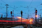 Fotografie železniční stanice