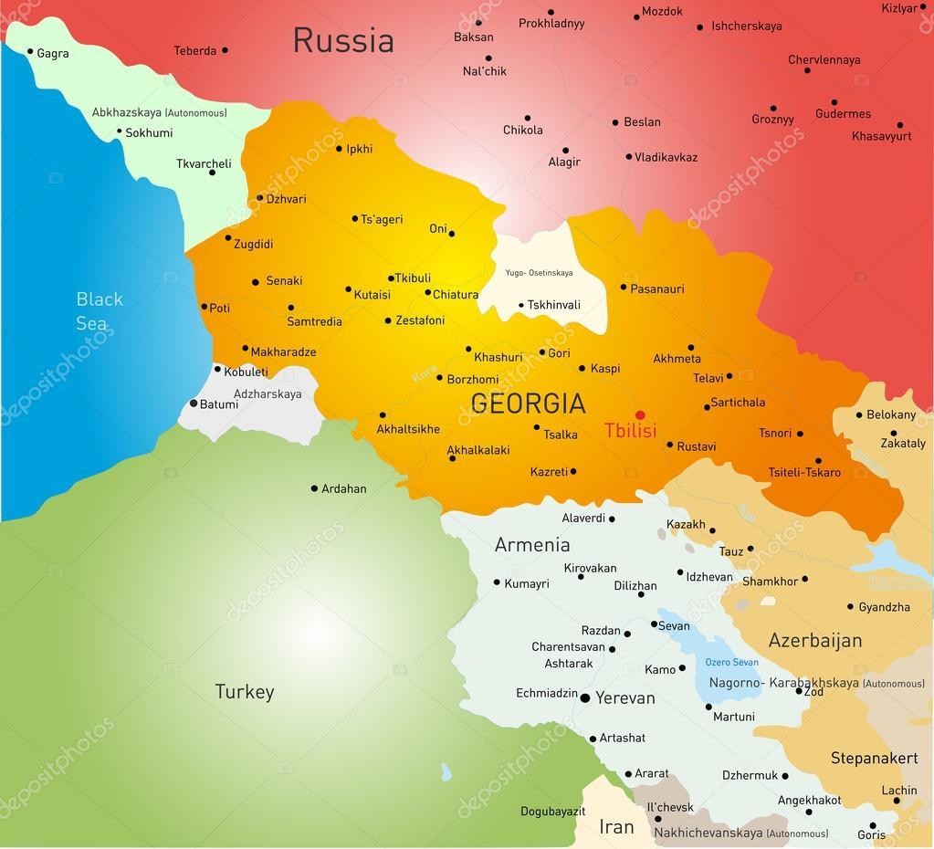 grúzia térkép Grúzia Térkép — Stock Vektor © olinchuk #41498401 grúzia térkép