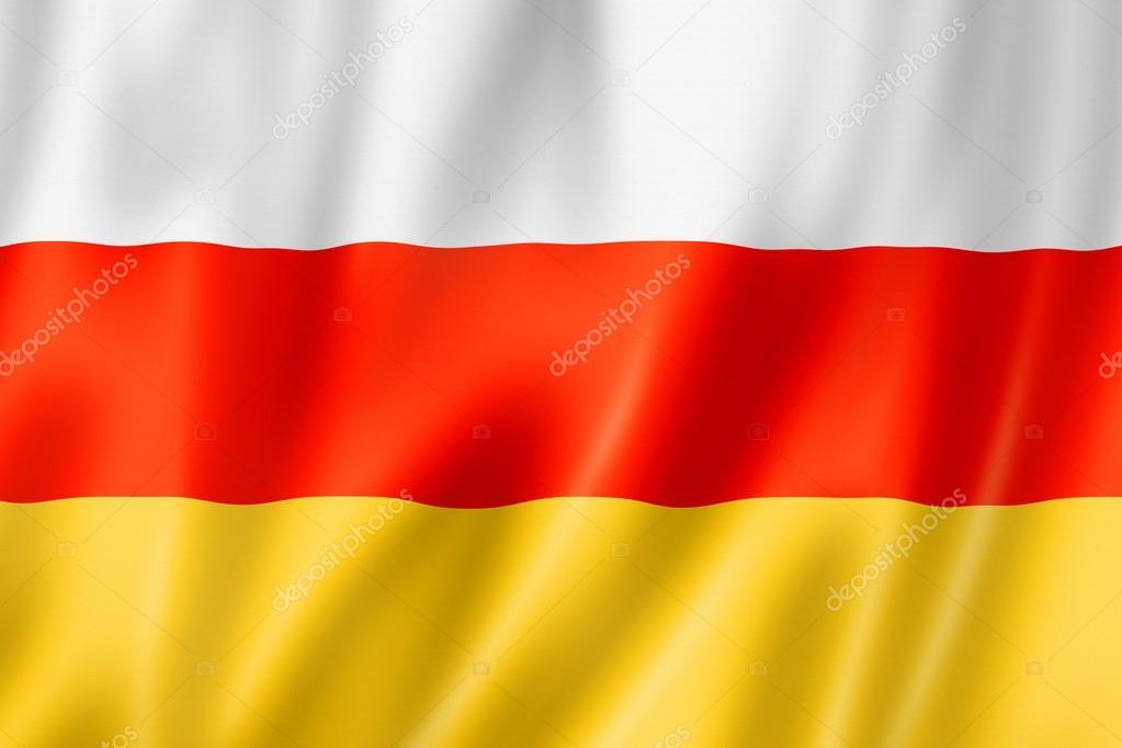 Осетинский флаг картинка для обоев