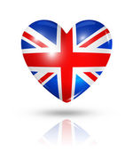 Love United Kingdom, heart flag icon