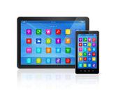 Smartphone a digitální tabletový počítač