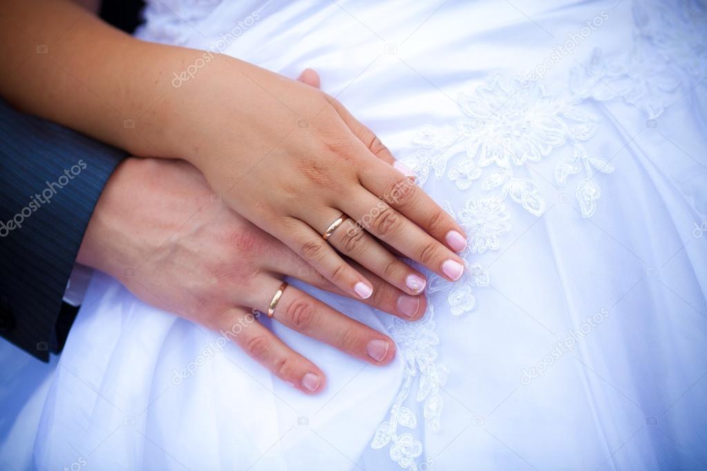 Обручальные кольца на руках молодоженов. Свадьба. Картинки обручальных колец  на руках — фото автора cs-333 — Фото автора cs-333 037315de8ae