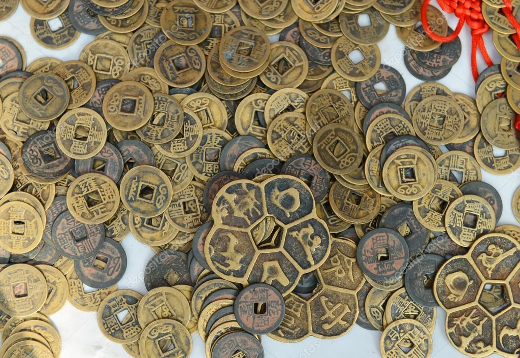 Alte Chinesische Münzen Stockfoto Firefox 18452171