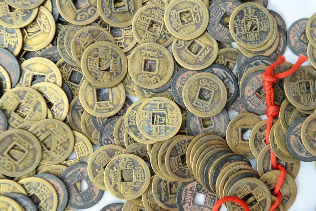 Alte Chinesische Münzen Stockfoto Firefox 22435805