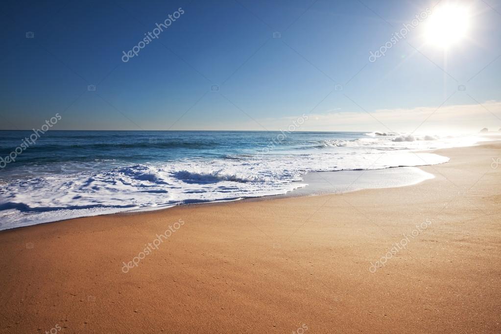Sea, Beach scene