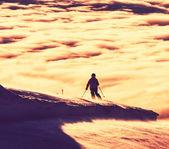 Fotografie lyžař