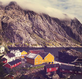 Fotografie chaty v Norsku
