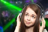 dívka na disco