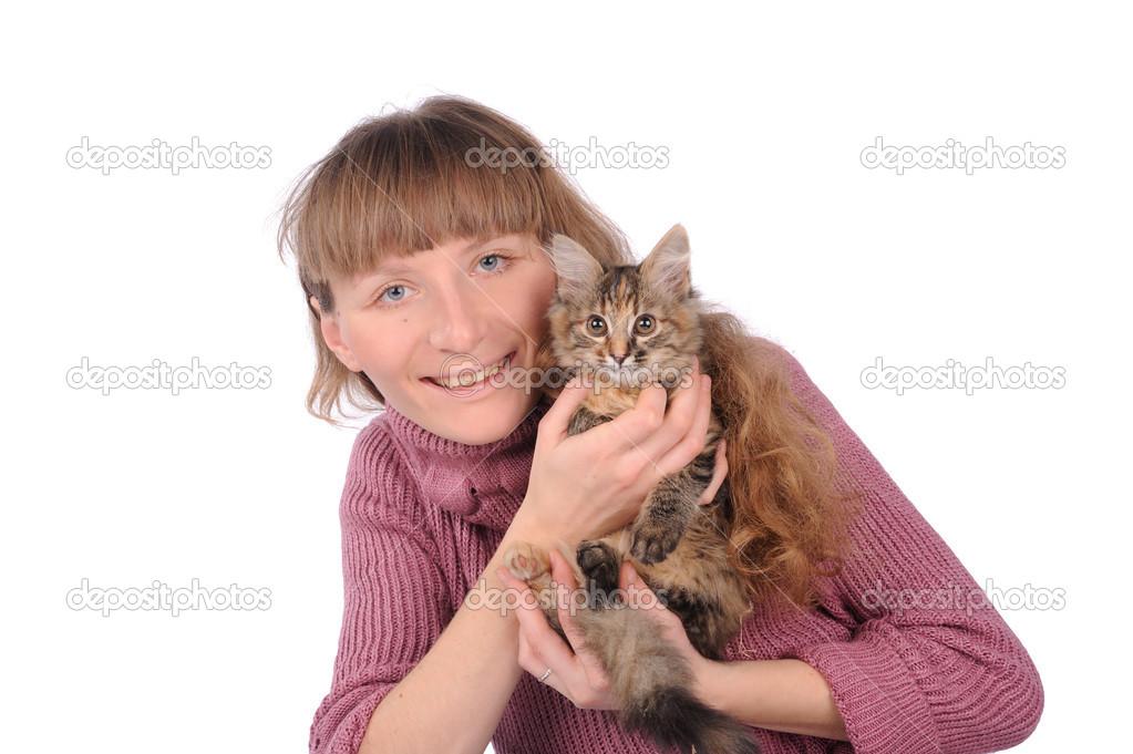 Adolescent chatte Brunette