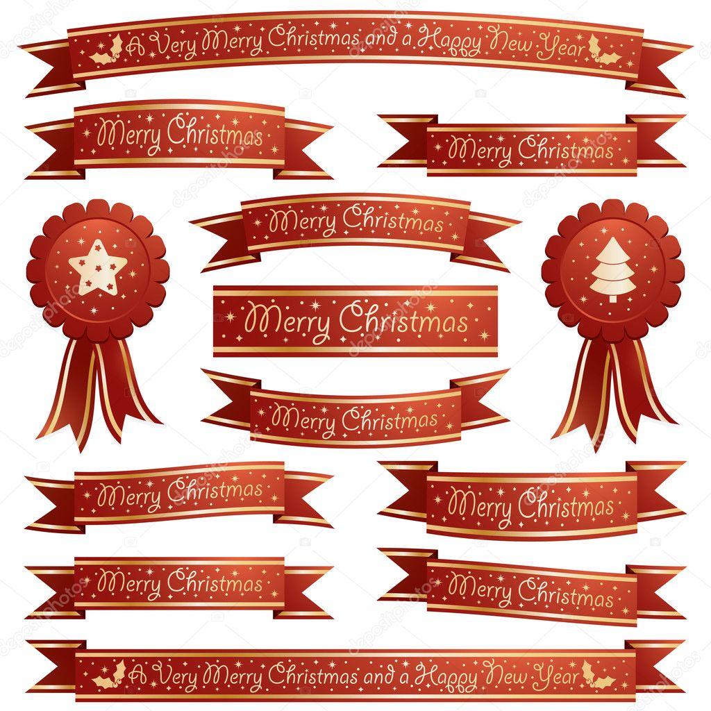 cintas navidad Archivo Imgenes Vectoriales mattasbestos 13641871