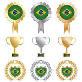 Photo gold silver bronze brazil