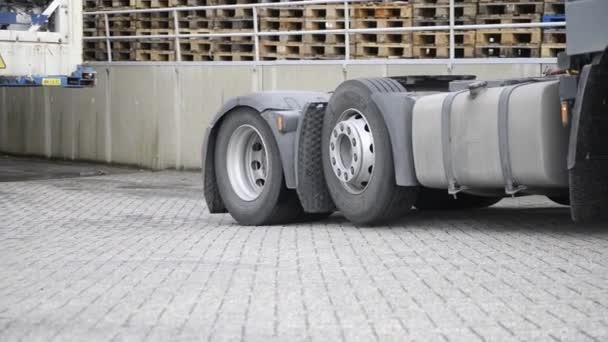 nákladní auto, zvedne trailer