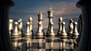 Chess: before battle