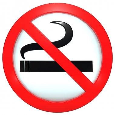 Sign (button) No smoking