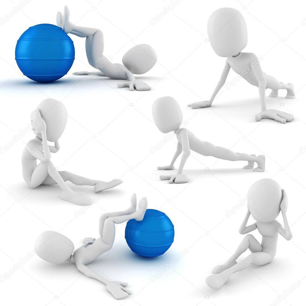 картинка человечек спорт для презентации использованные