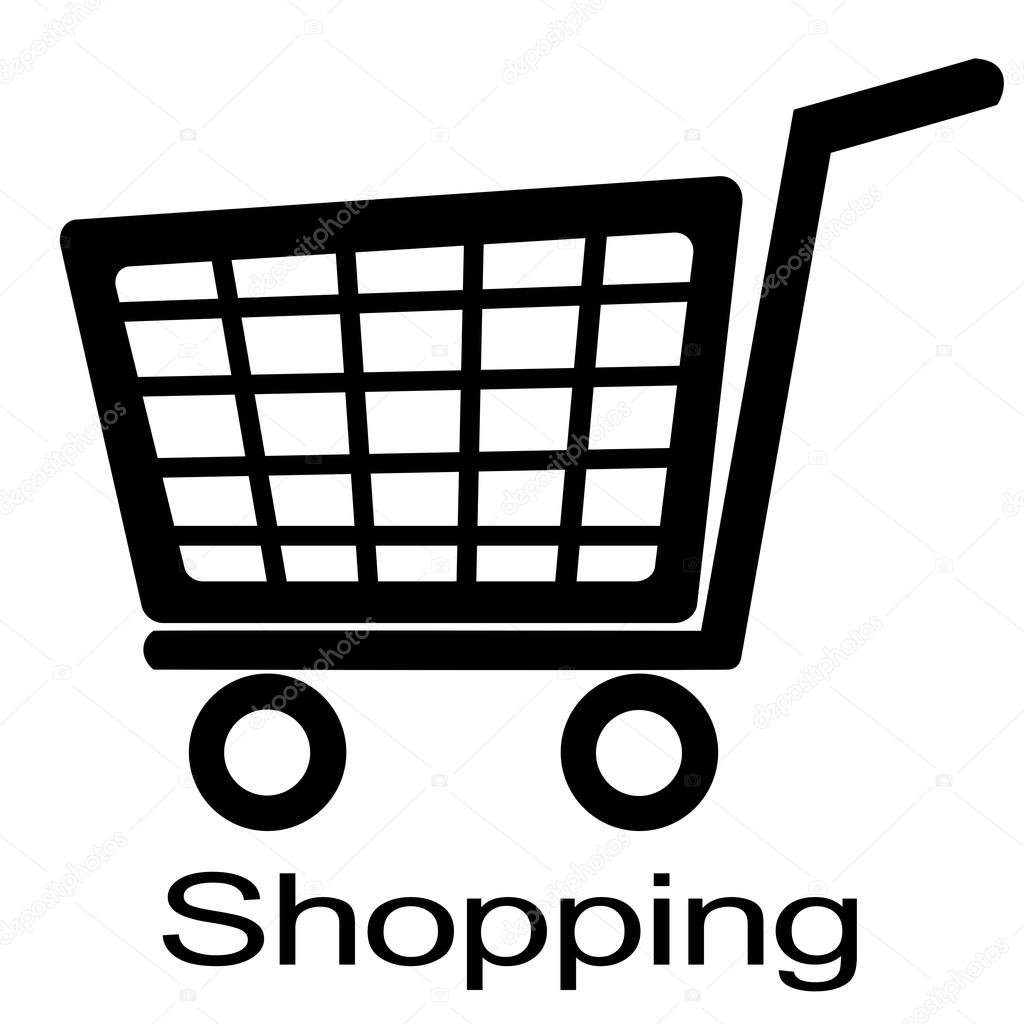 Shopping Cart Clipart Black And White Www Pixshark Com