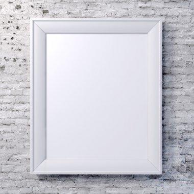 "Картина, постер, плакат, фотообои ""Пустой кадр на старинные стены"", артикул 32632929"