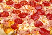 pizza peperoni da vicino