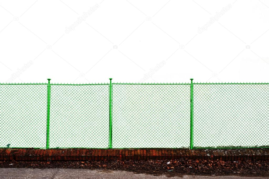 metal grid fence stock photo stevanovicigor 27952627