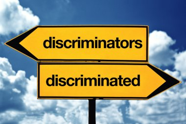Discriminators and discriminated