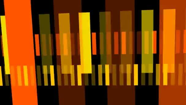 zářící linky, abstraktní pozadí animace