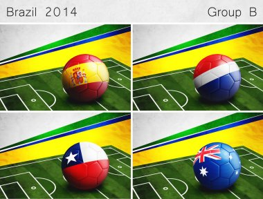 Brazil 2014, Group B