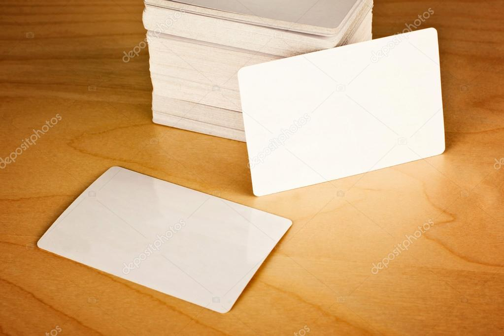 Business cards with rounded corners — Stock Photo © stevanovicigor ...