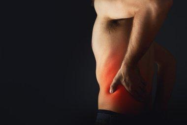 Back pain.