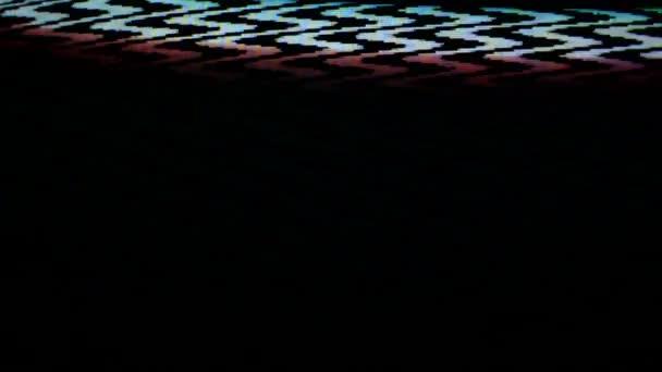 zatlumené televizní obrazovku. televizní šum pozadí. 1920 x 1080, full hd záběry
