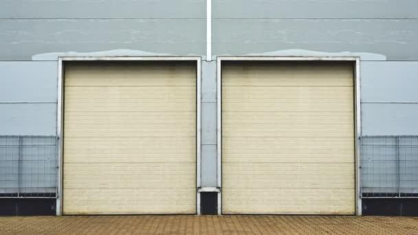 Industrial Unit With Roller Shutter Doors Warehouse Storage Doors