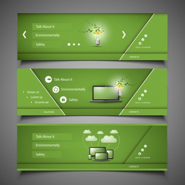 Web Design Elements - Header Designs