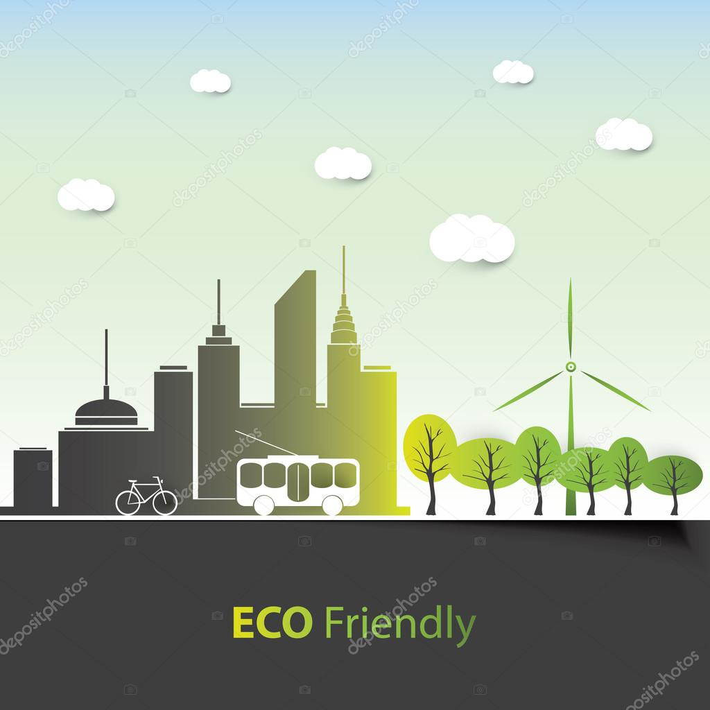 Eco Friendly - Background Design