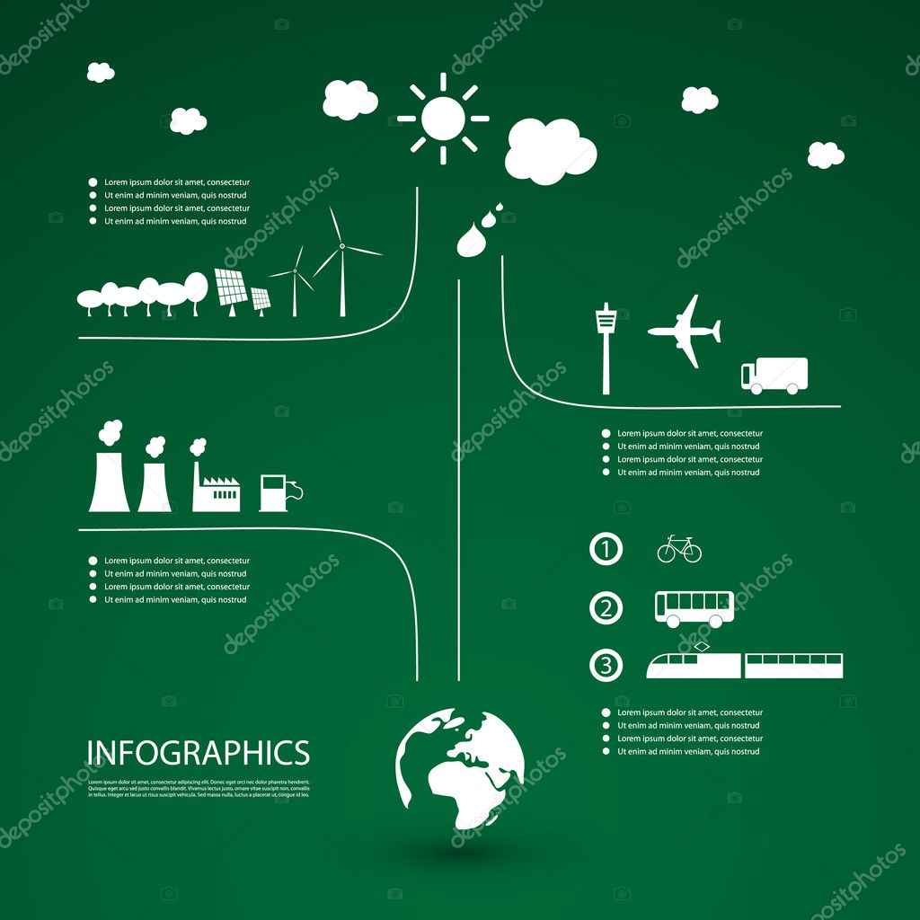 Eco Infographic Design