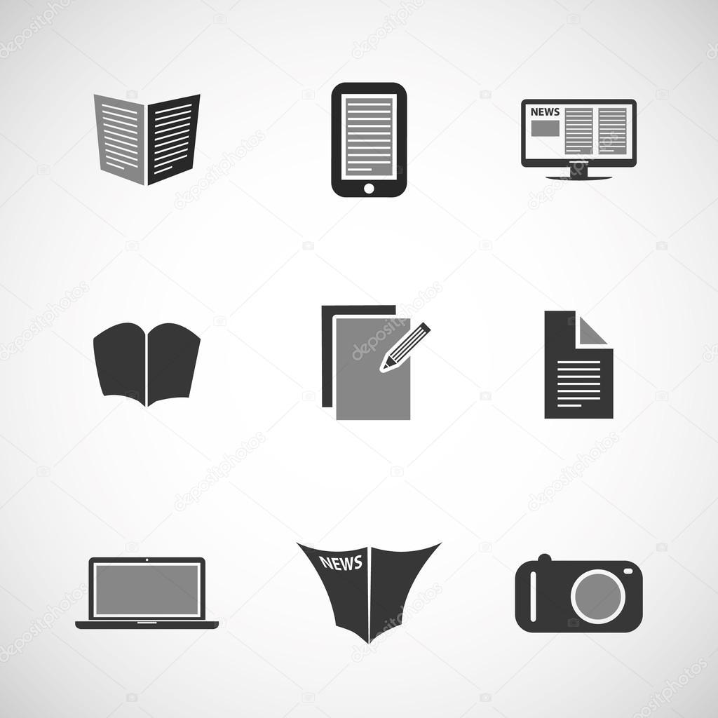 Icon Set - Business, IT, Media, Everyday Life