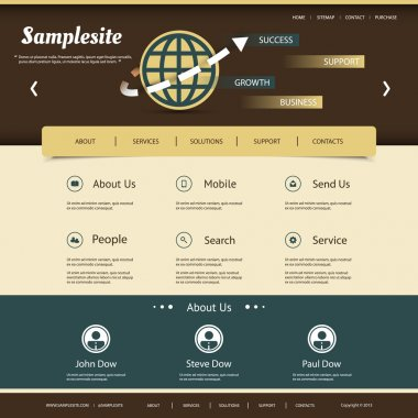Website Template for Your Business or Blog