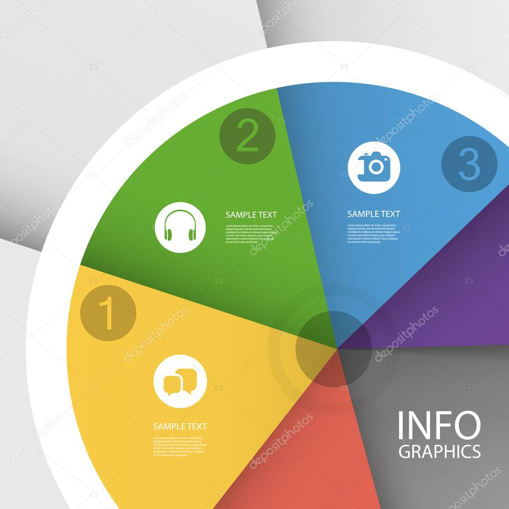 Colorful Business Pie Chart - Infographic Design