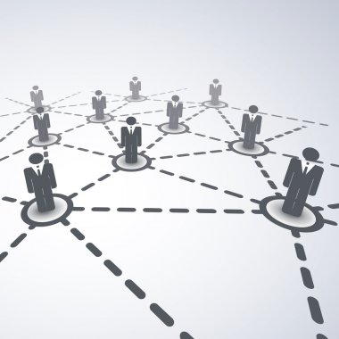 Network Concept - Business Connections
