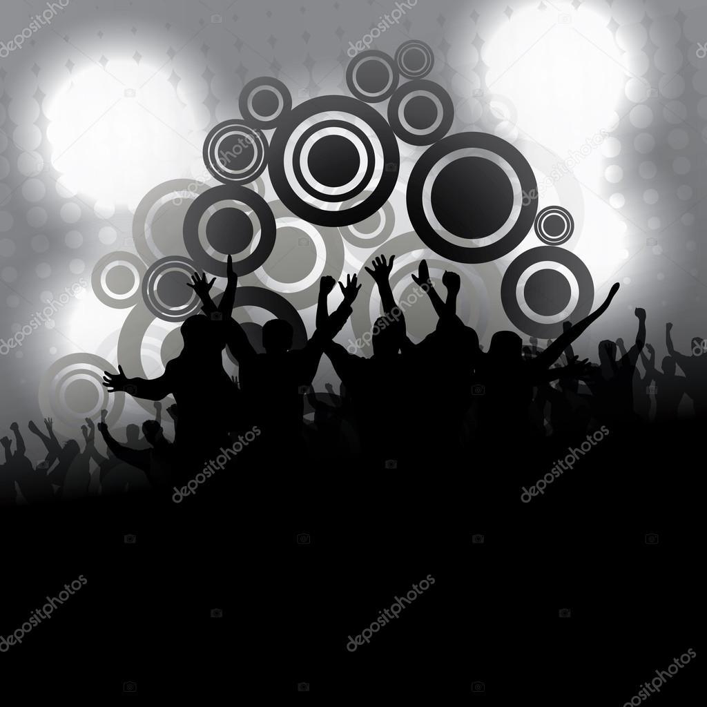 party people vector background stock vector bagotaj 48109637