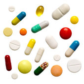 Fotografie Many colorful pills