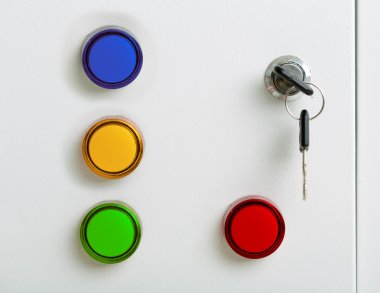 Electrical colorful indicators