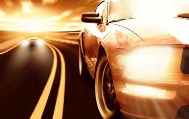 Racing sport cars