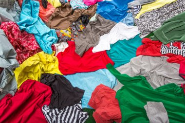 Colorful clothing
