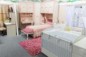Fényképek baba hálószoba pasztell színek