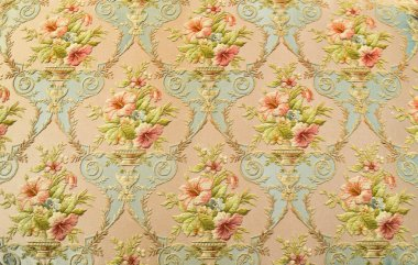 Rose fabric wallpapers