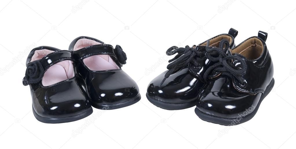 Блискучі формальні дитяче взуття для хлопчиків і дівчаток– стокове  зображення b96215894041e
