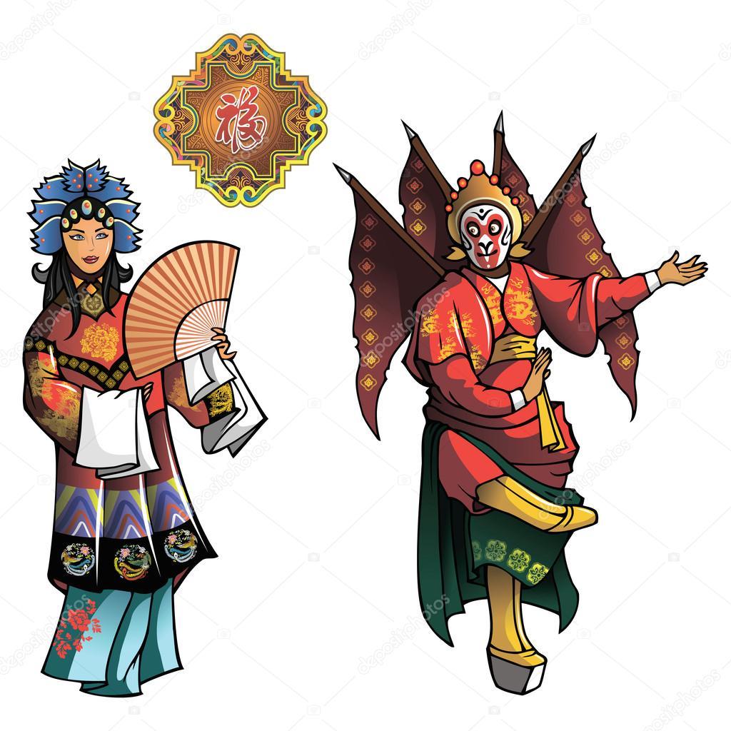Personages of Beijing Opera