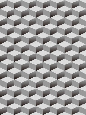seamless background with cubes pattern