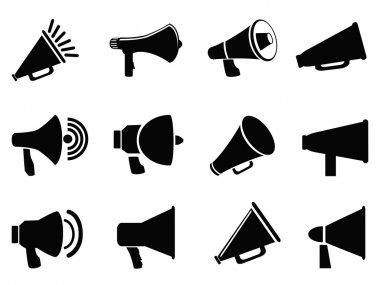 Megaphone icons