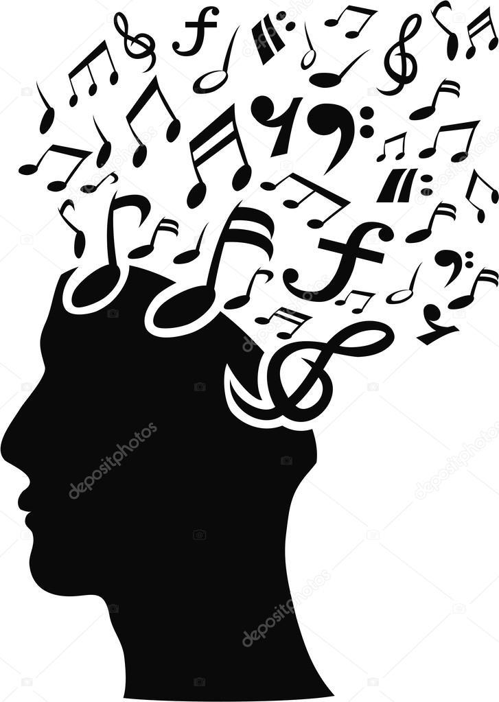 Musical note head